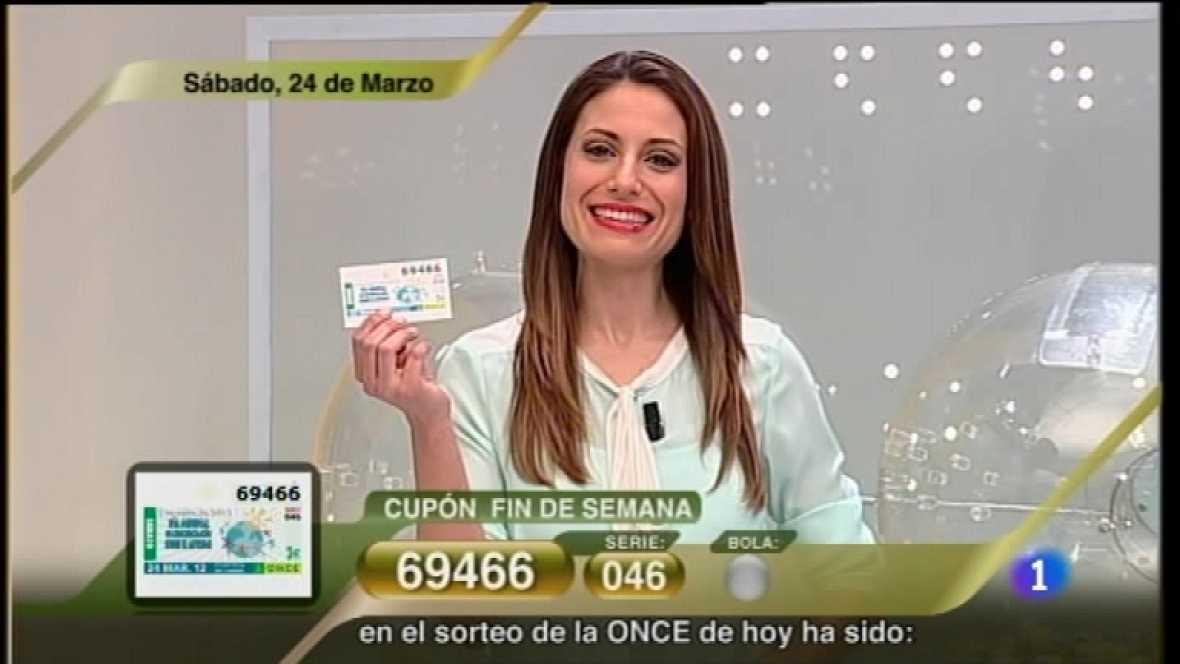 Sorteo ONCE - 24/03/12 - Ver ahora