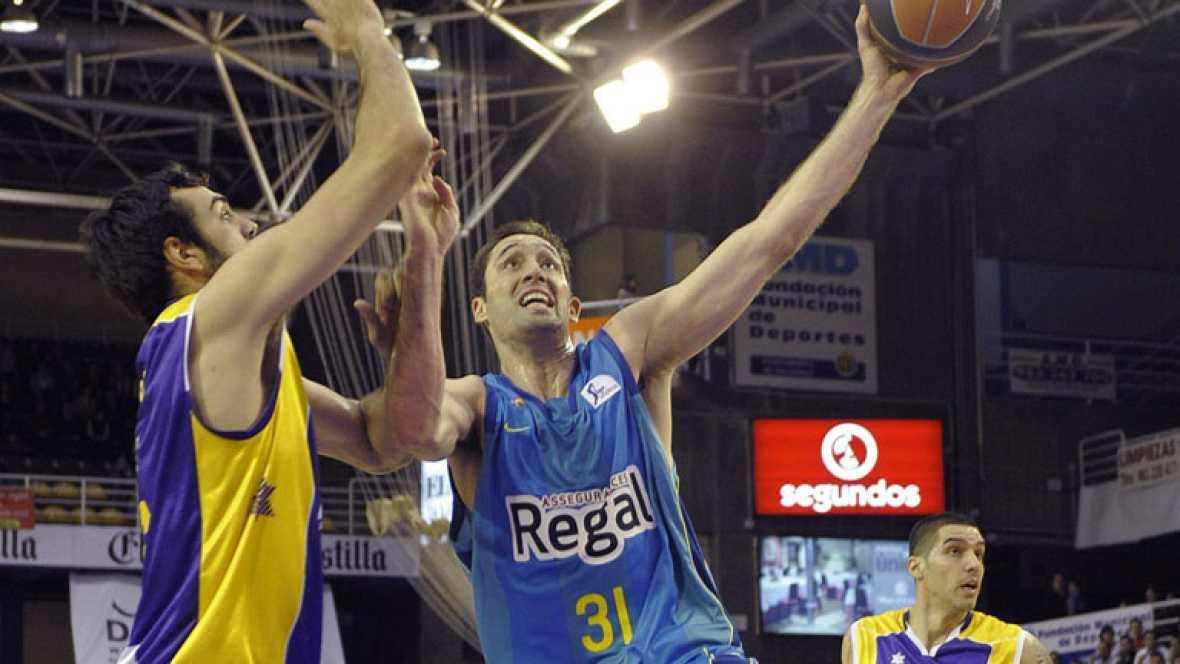 Blancos Rueda Valladolid 86 - 92 Regal Barcelona
