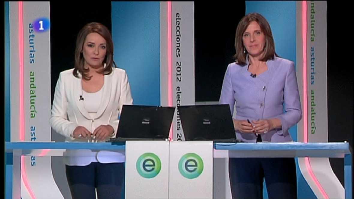 Especial informativo - Elecciones autonómicas de Andalucía y Asturias - 25/03/12 - Ver ahora