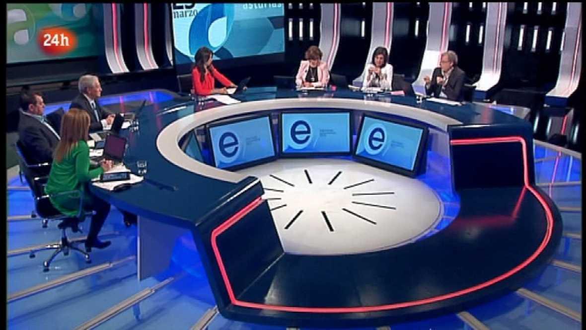 Especial informativo - Debate elecciones Andalucía y Asturias - 25/03/12 - Ver ahora