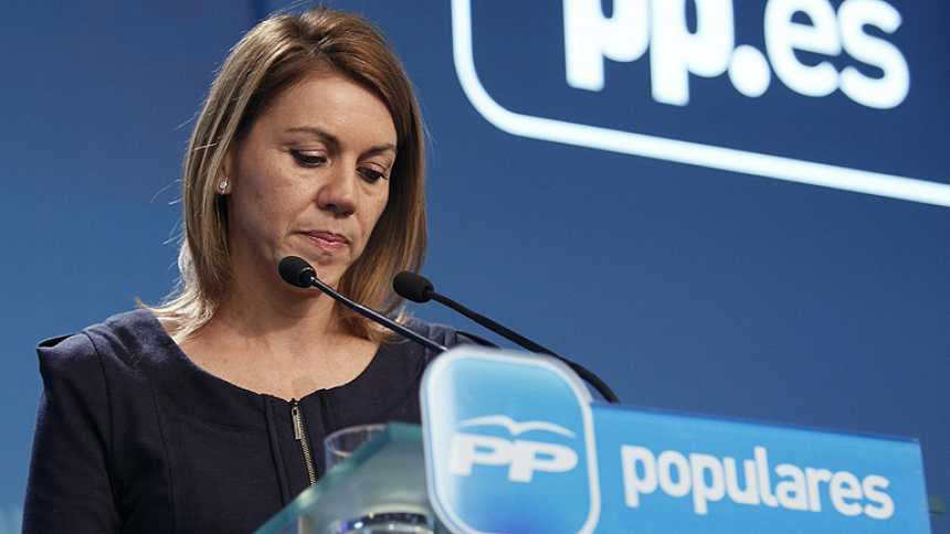 Cospedal dice que el Gobierno seguirá con sus reformas pese a los resultados en Andalucía y Asturias