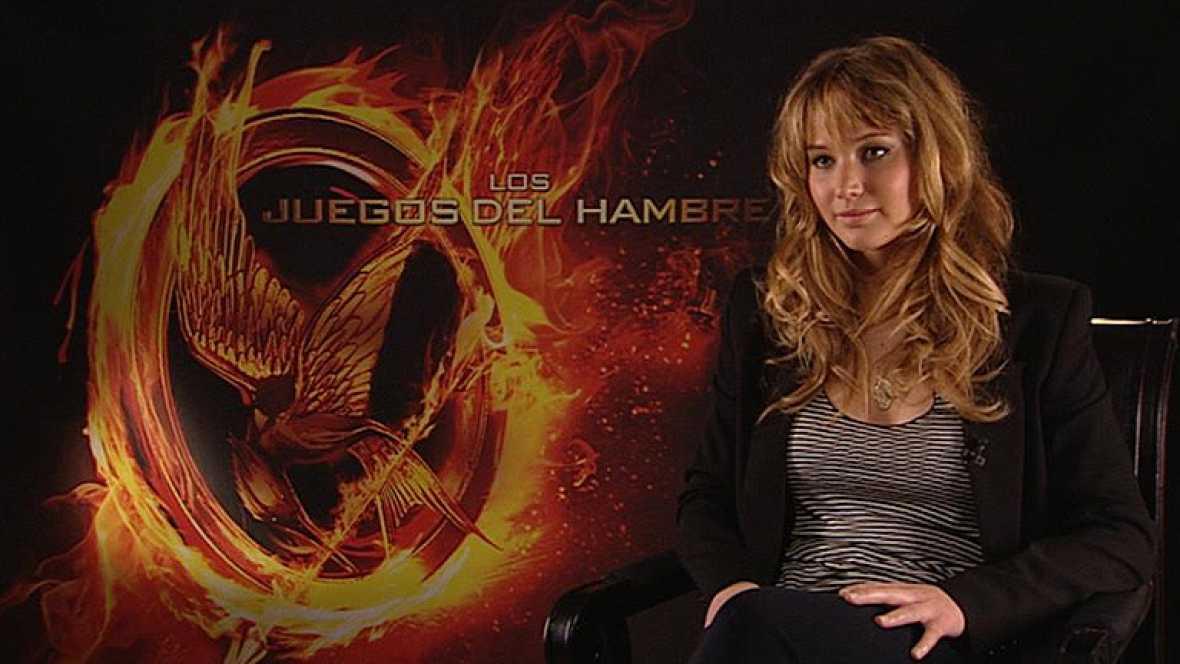 """Jennifer Lawrence presenta en Madrid """"Los juegos del hambre"""""""