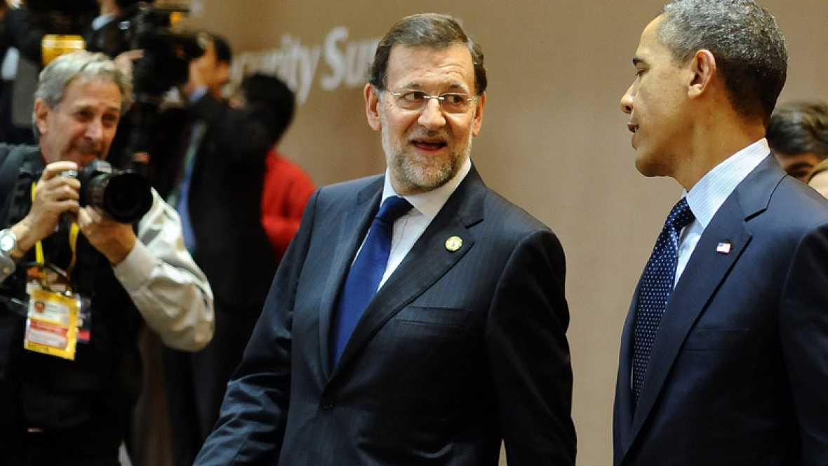 Rajoy insiste en que su objetivo es cumplir el 5,3 por ciento del déficit