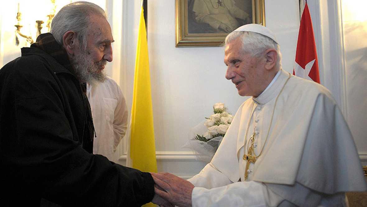 El papa acaba sus tres días de visita a Cuba