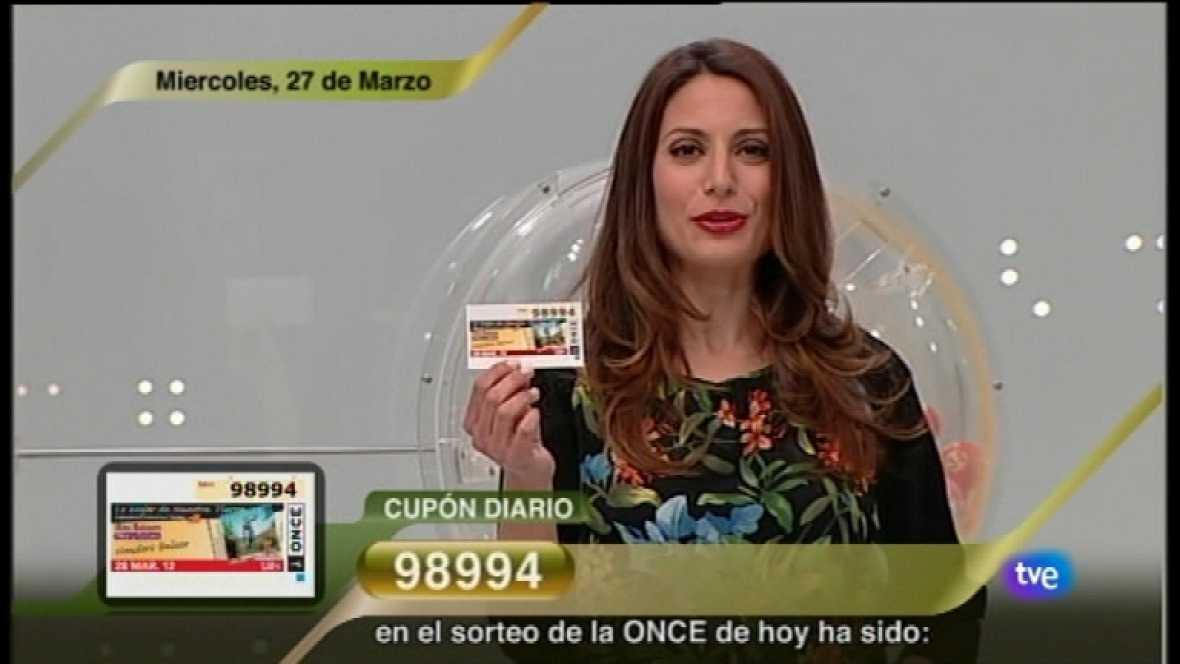 Sorteo ONCE - 28/03/12 - Ver ahora