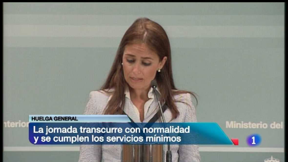 Telediario - 8.30 horas - 29/03/12 - Ver ahora