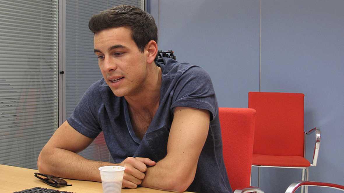 El actor Mario Casas ha charlado con los usuarios de  RTVE. es