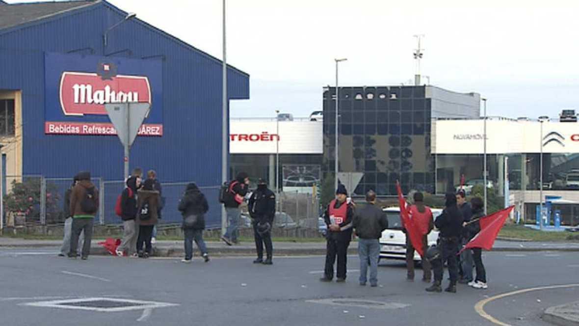 El sector industrial respalda fuertemente la huelga