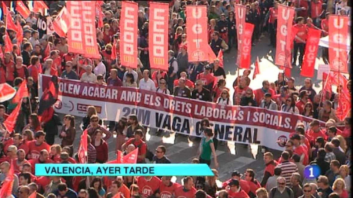 L'Informatiu - Comunitat Valenciana - 30/03/12  - Ver ahora