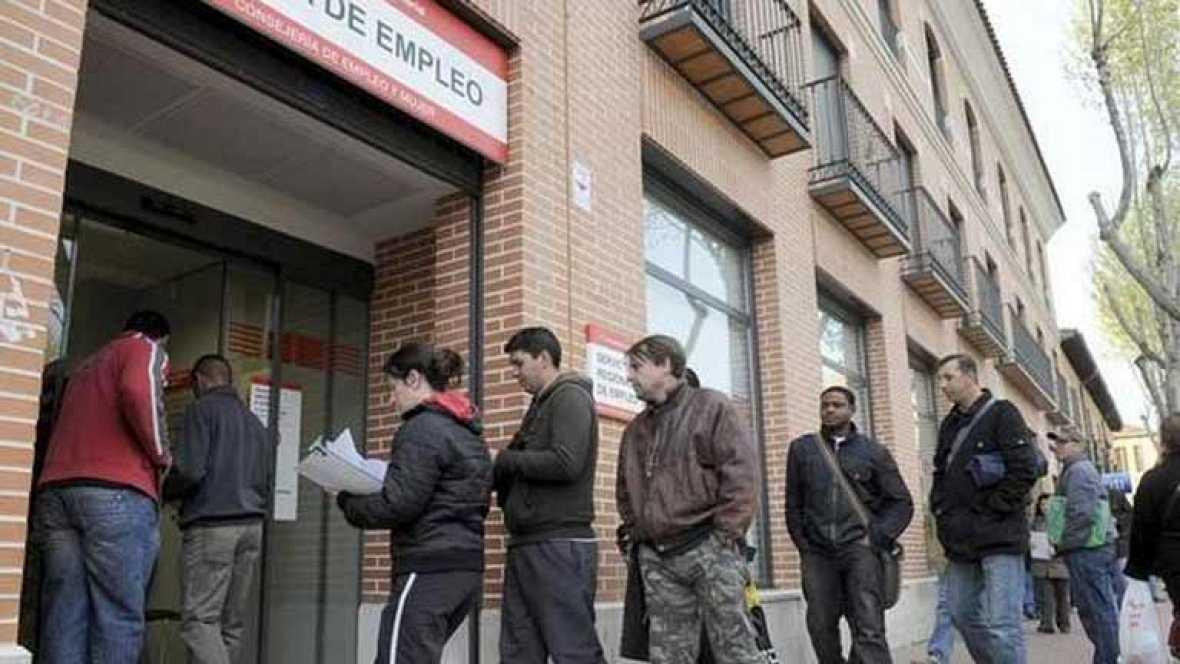Récord de paro en la eurozona del 10,8%, impulsado por España con el 23,6%