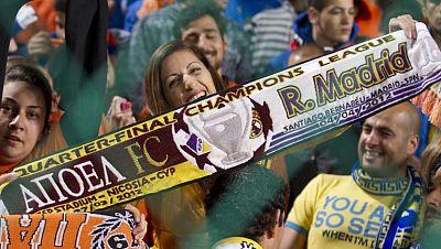 El exquisito recibimiento del Real Madrid en Nicosia