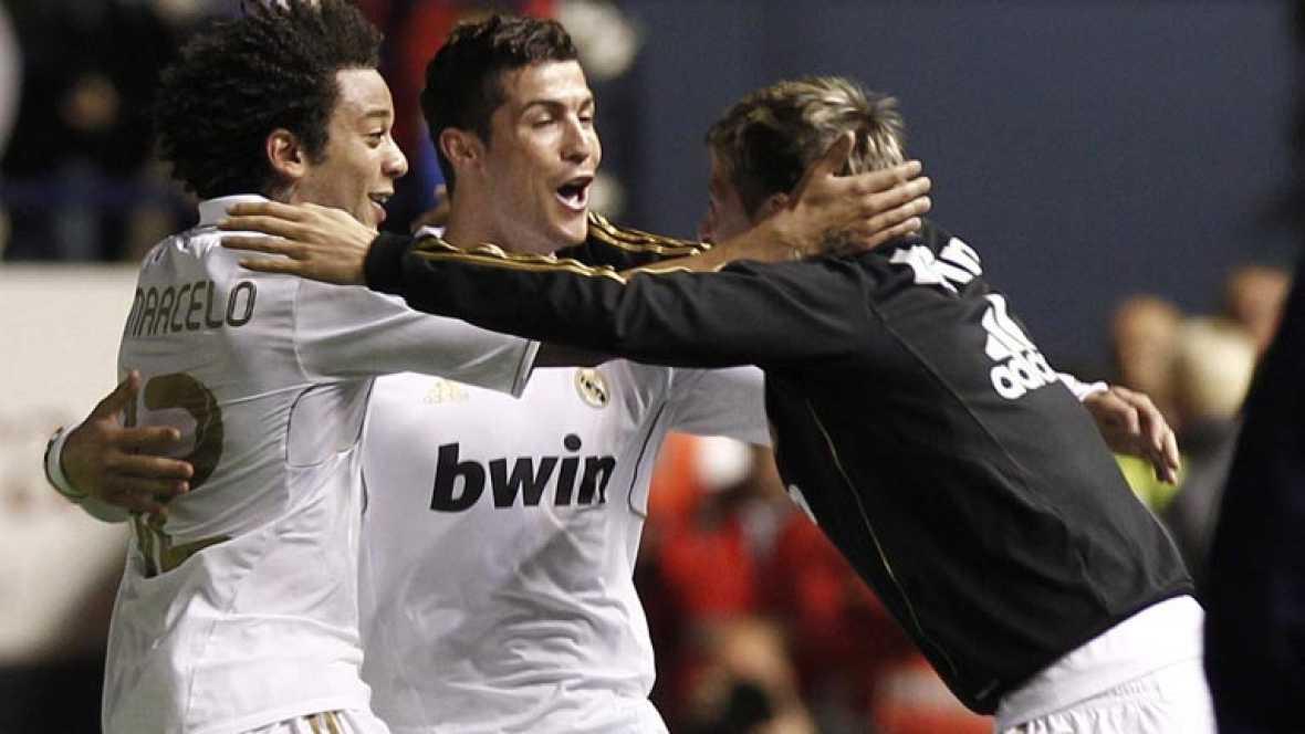 El Real Madrid vuelve a sonreir