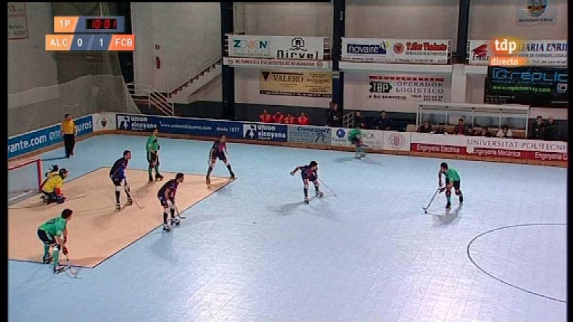 Hockey sobre patines - Liga española: Enrile Pas Alcoy - FC Barcelona - 02/04/12 - ver ahora
