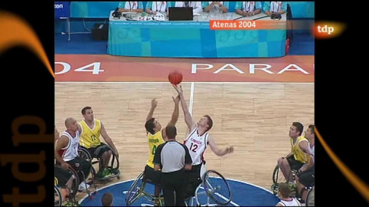 Londres en juego - Paralímpicos Atenas 2004. Baloncesto masculino silla de ruedas. Final Australia - Canadá - ver ahora