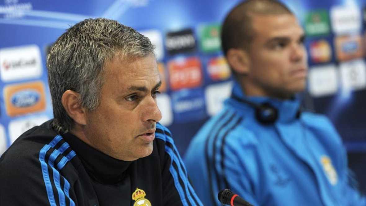 El entrenador del Madrid no quiere romper la concentración de sus jugadores y avisa de que verá el partido del Bayern de Múnich.