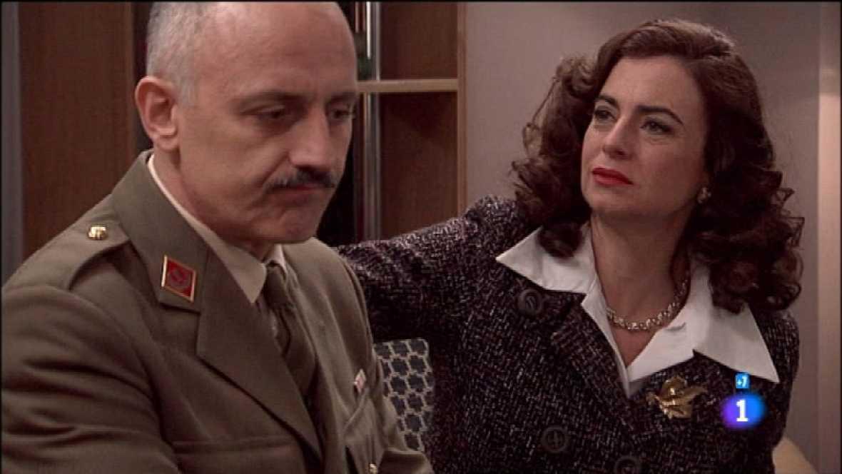 Amar en tiempos revueltos - T7 - Capítulo 147 - Eugenio pierde los nervios con Rocío cuando esta intercede por Cecilia - Ver ahora