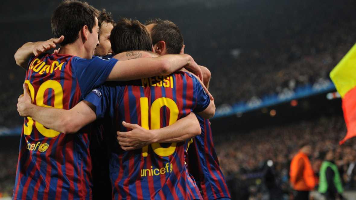 El FC Barcelona ha conseguido, por quinta vez consecutiva, el pase a las semifinales de Liga de Campeones tras ganar al AC Milan (3-1).