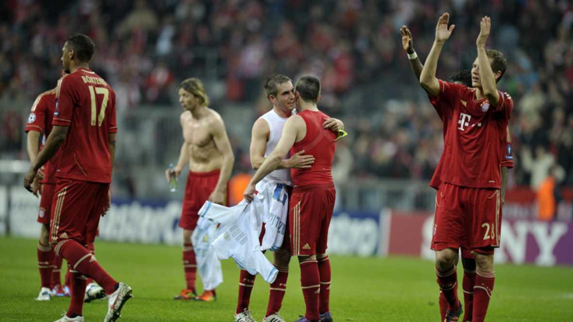 Dos goles de Olic fueron suficientes para desbancar al Olympique de Marsella. El Bayern ganó (2-0) y ya está en las semifinales de la Champions League donde se enfrentará al Real Madrid.