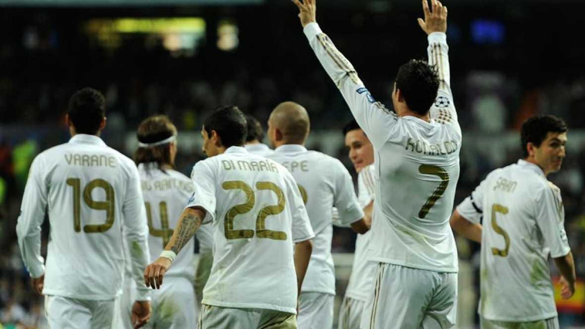 El conjunto blanco vence 5-2 al chipriota en un partido cómodo, con doblete de Cristiano Ronaldo, secundado por Kaká, Callejón y Di María. Manduca y Solari marcaron por el APOEL.