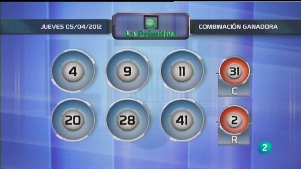 Lotería diaria - 05/04/12 - Ver ahora