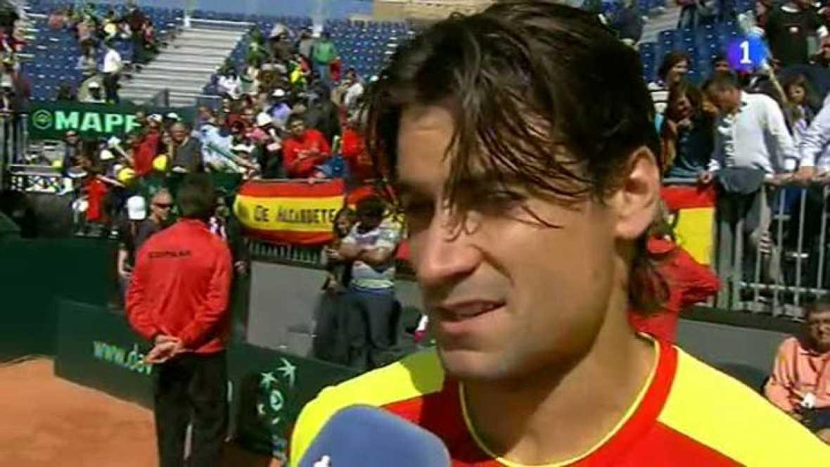 El tenista alicantino pone el 2-0 para España en cuartos de la Copa Davis frente a Austria al ganar a Andreas Haider-Mauder por un contundente 6-1, 6-3 y 6-1.