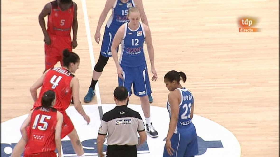 Baloncesto - Liga femenina - Ciudad Ros Casares-Rivas Ecópolis - Ver ahora