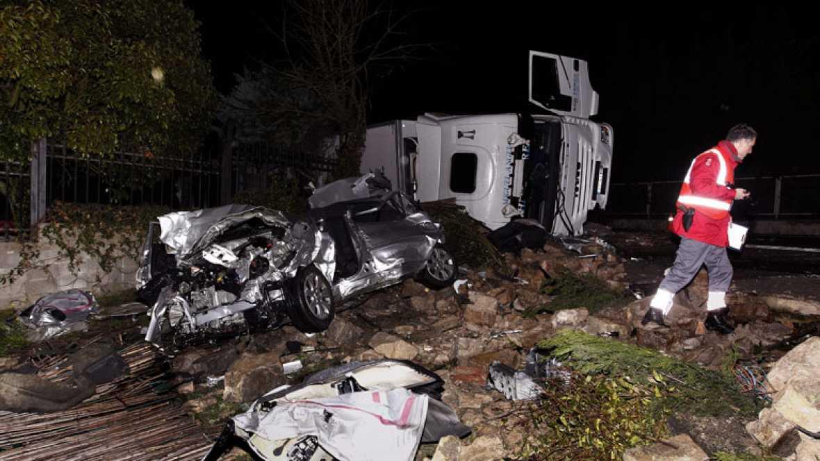 La semana santa deja un balance de 43 personas muertas por accidentes de tráfico