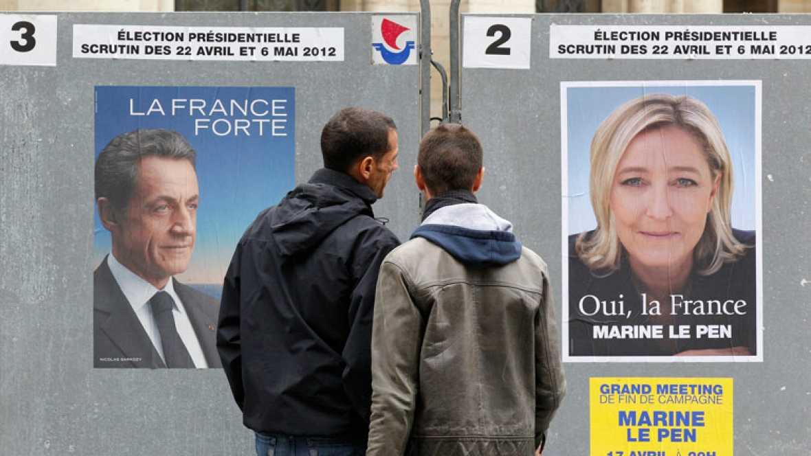 Sarkozy y Hollande miran preocupados a otros candidatos que les puedan quitar muchos votos