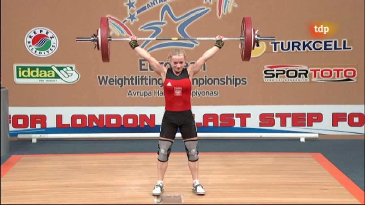 Halterofilia - Campeonato de Europa 48 Kgs. Femenino - ver ahora