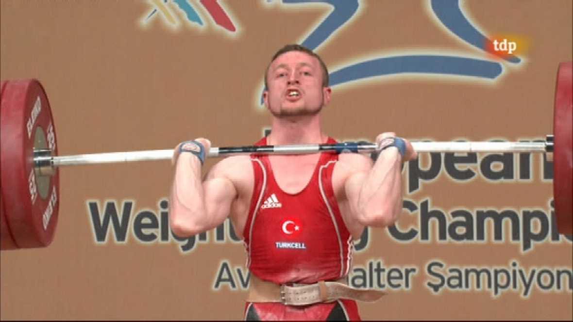 Halterofilia - Campeonato de Europa 62 Kgs. Masculino - ver ahora