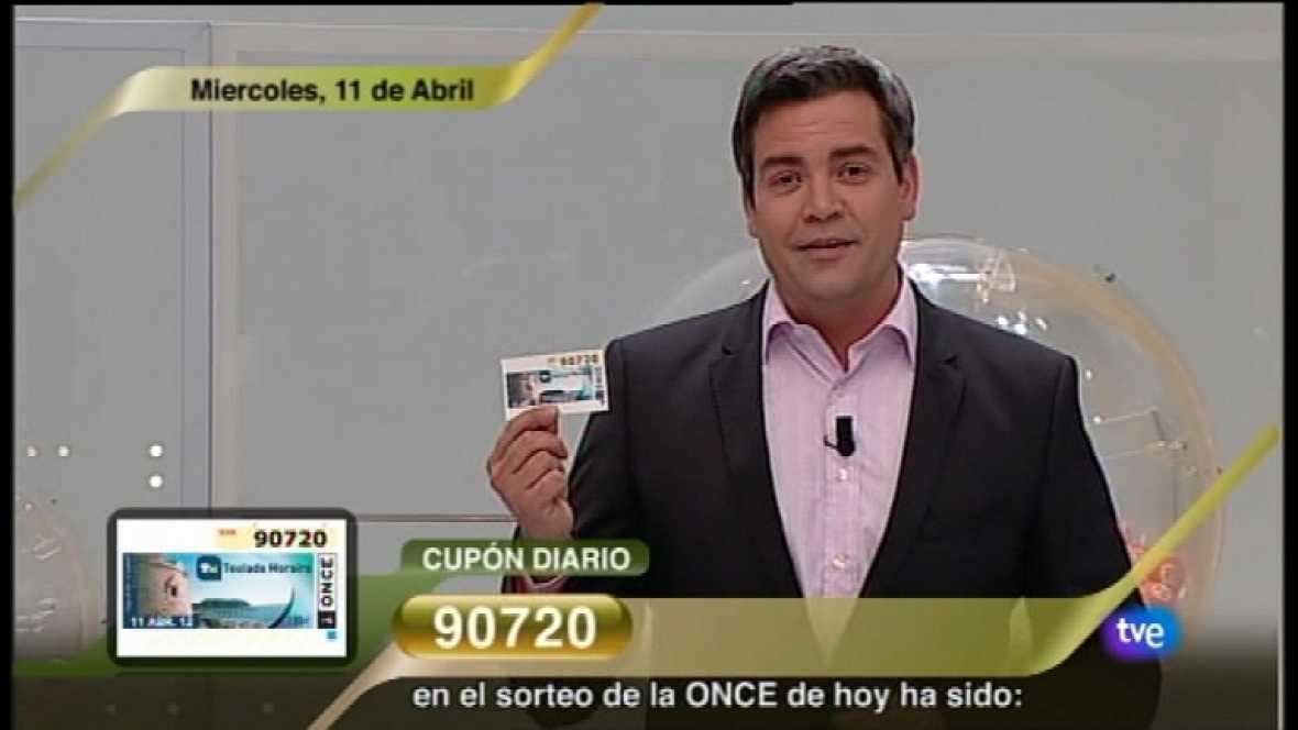 Sorteo ONCE - 11/04/12 - Ver ahora