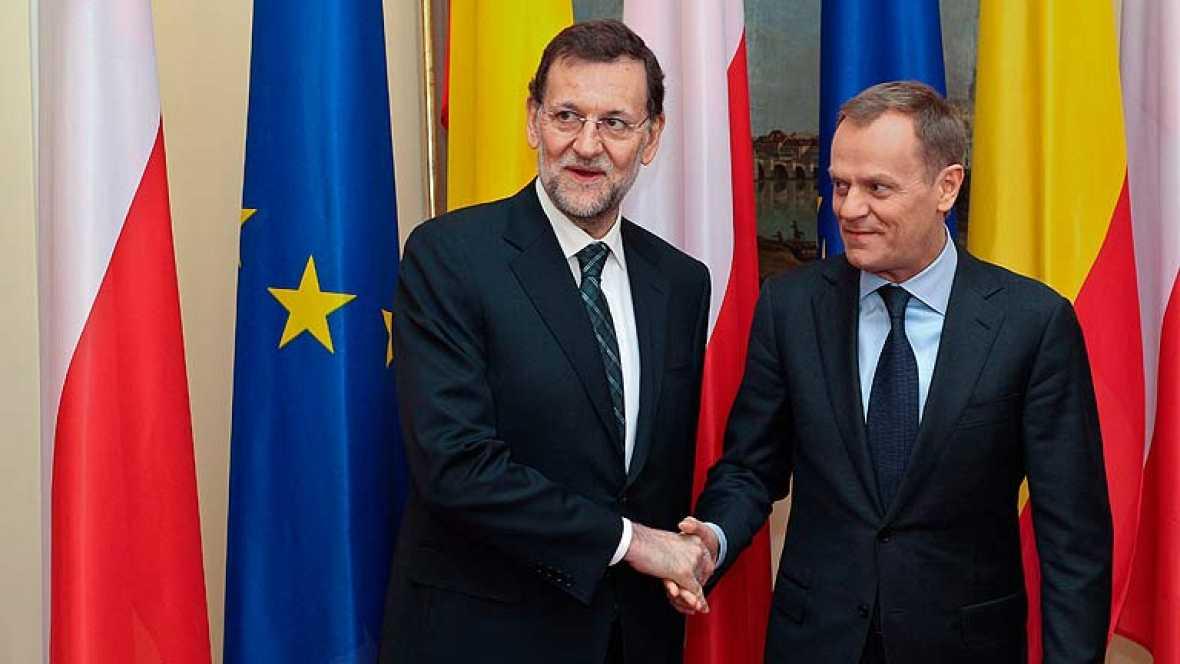 """Rajoy: """"Nadie ha planteado un rescate ni nadie va a plantear un rescate de España"""""""