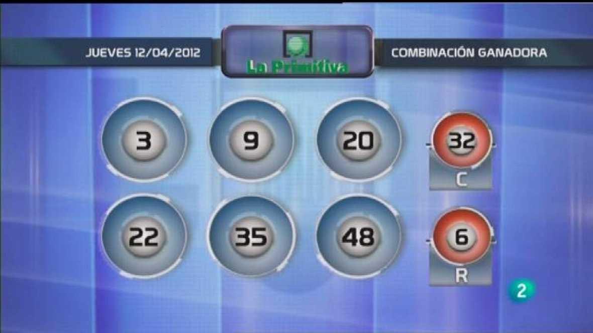 Lotería diaria - 12/04/12 - Ver ahora