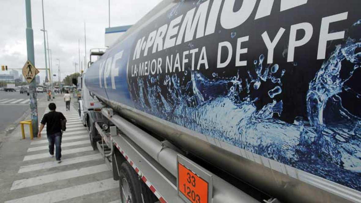 Fernández guarda silencio sobre la expropiación de la filial de Repsol