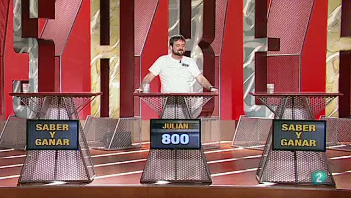 Saber y ganar -  Julián Díaz 50 Programas  13/04/2012
