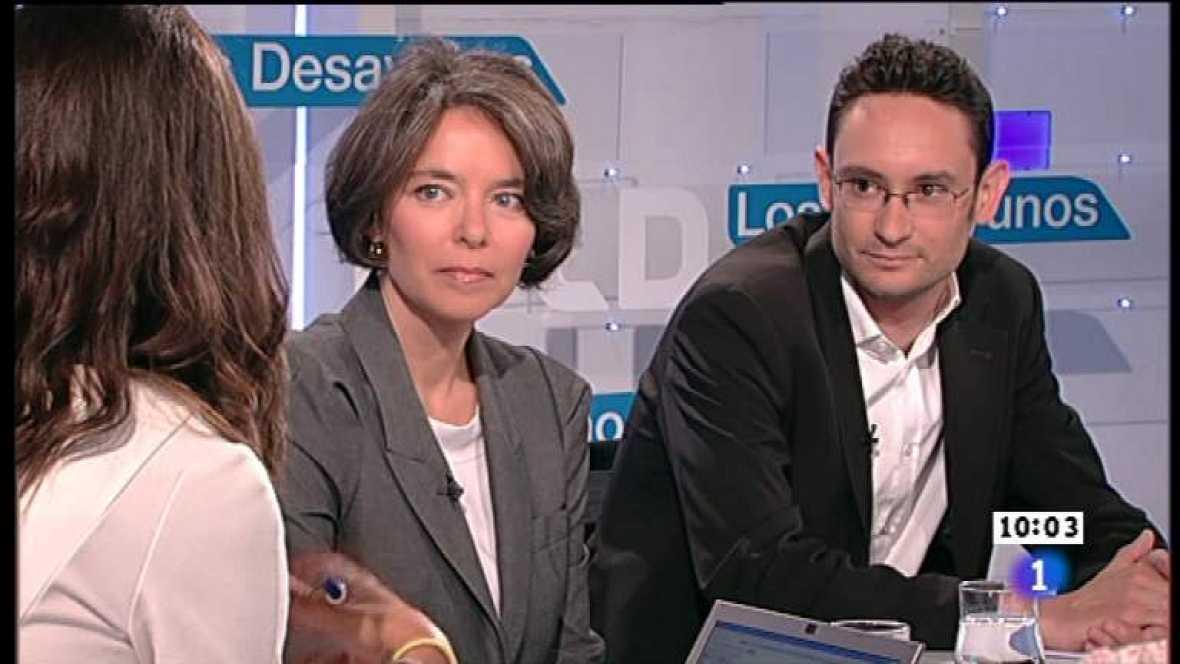 Los desayunos de TVE - Fiona Ortiz y Mathieu de Taillac, correponsales - Ver ahora