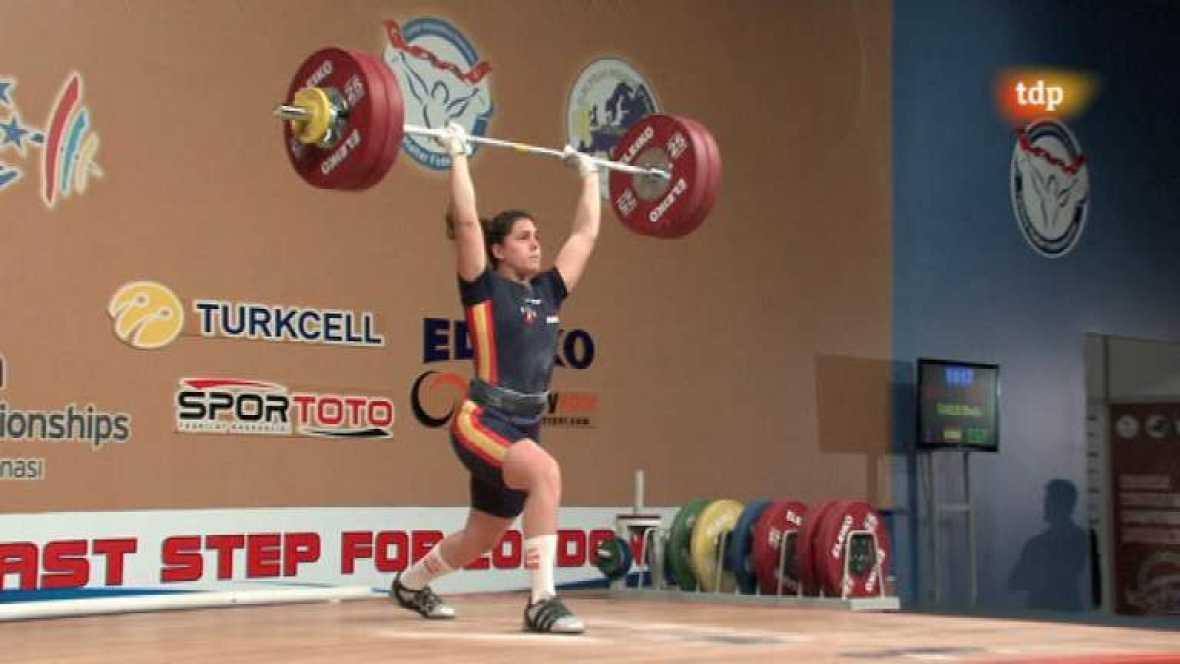 Halterofilia - Campeonato de Europa 69 Kgs. Femenino - ver ahora