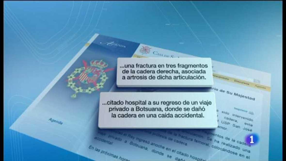 Telediario - 15 horas - 14/04/12 - Ver ahora