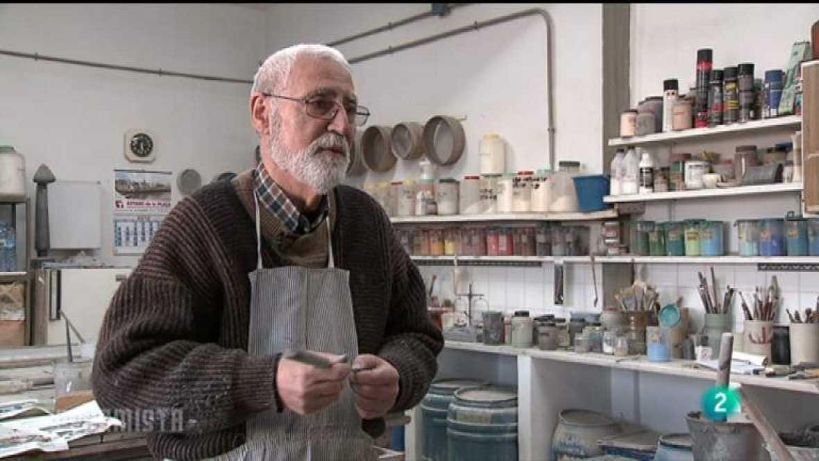 Los oficios de la cultura el ceramista enric mestre for El ceramista cordoba