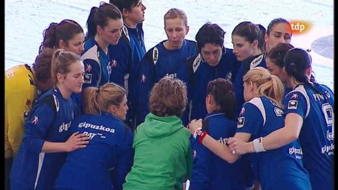 Balonmano Femenino - Copa de la Reina. 1ª semifinal: BM. Alcobendas - Bera Bera - Ver ahora