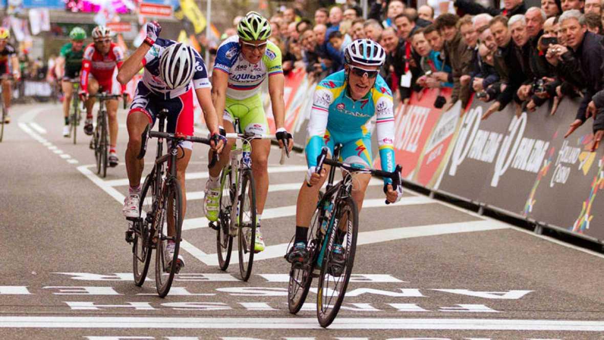 Gasparotto vence en la Amstel Gold Race