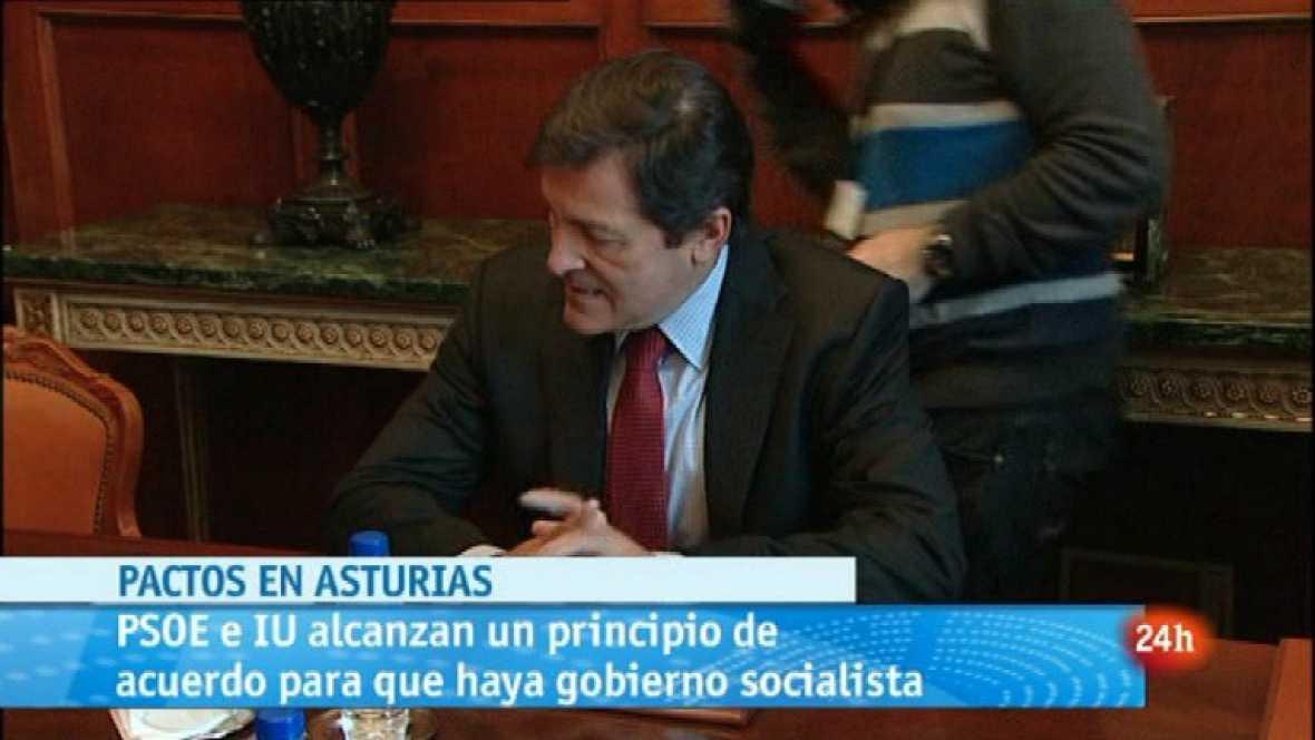 Parlamento - Parlamentos autonómicos - Acuerdo en Asturias PSOE