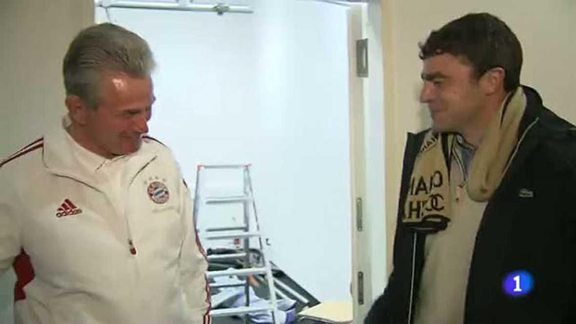 Heynckes-Sanchís, el reencuentro del técnico y el capitán de la 'Séptima'