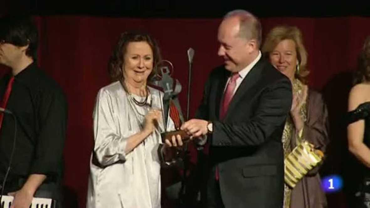 L'informatiu migdia - Entrega Premis Sant Jordi de Cinema - 17/04/12
