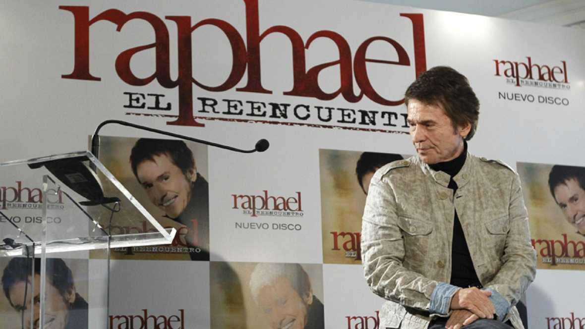 """Raphael presenta nuevo disco, """"El Reencuentro"""""""