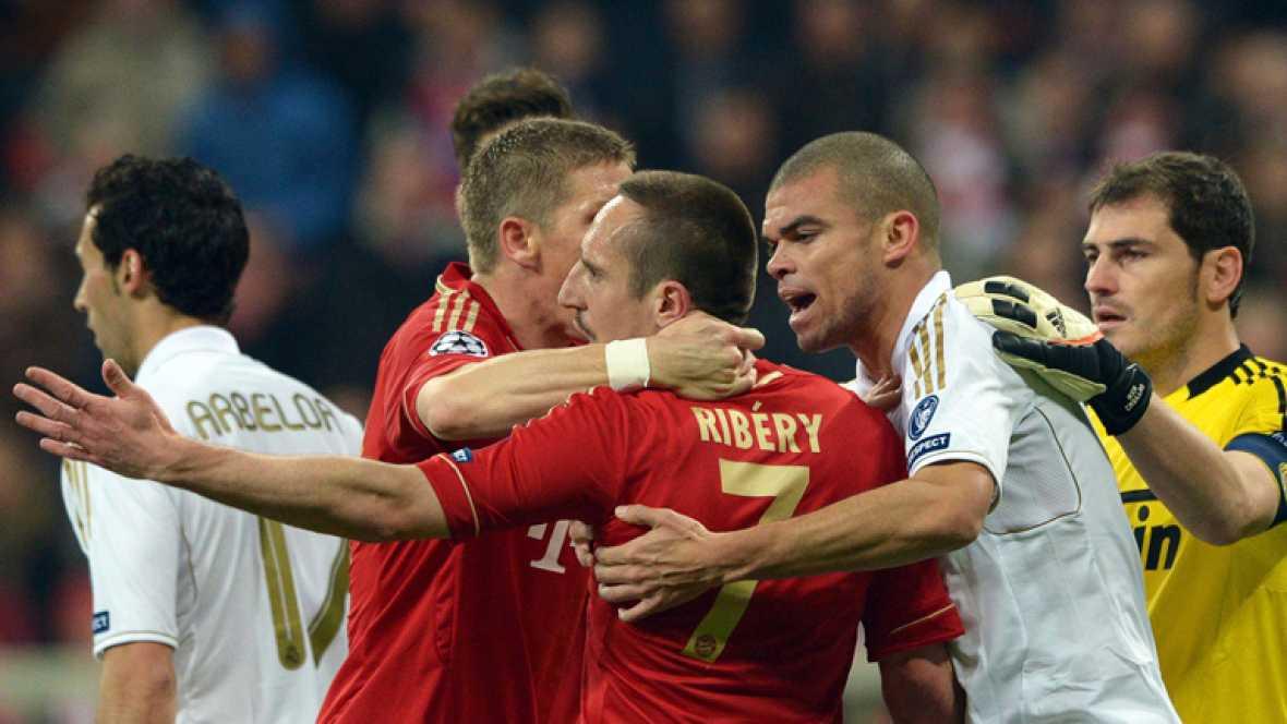 El Real Madrid ha perdido ante el Bayern de Múnich (2-1)