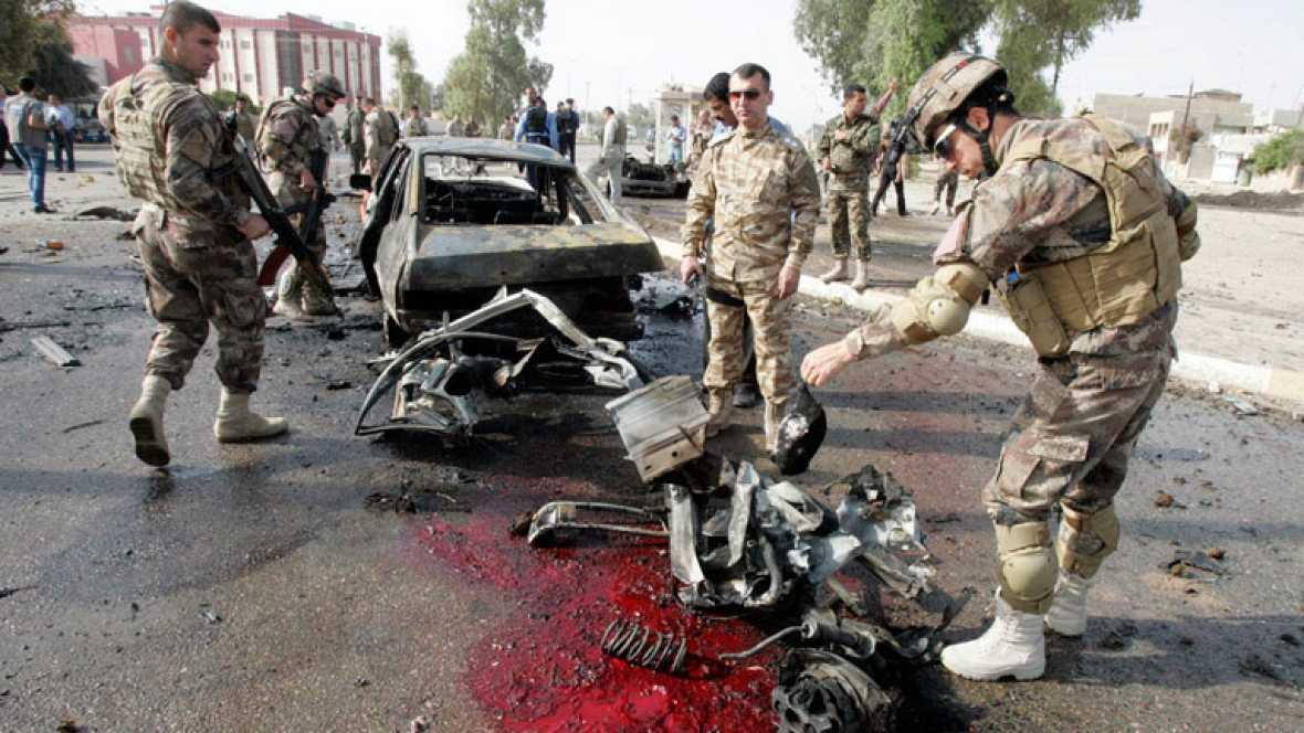 Al menos 24 muertos en una cadena de atentados en Irak