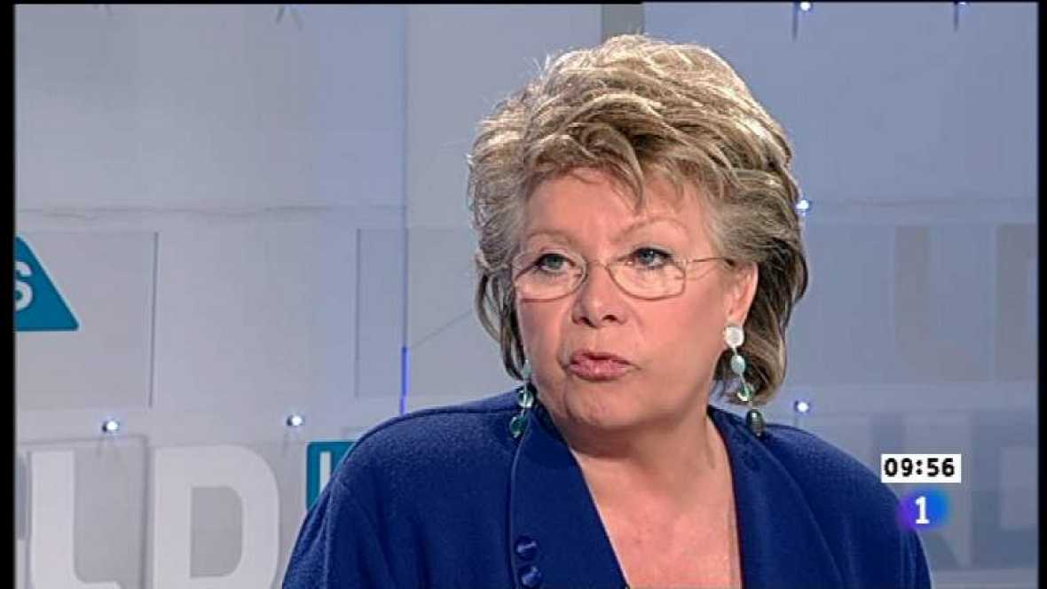 Los desayunos de TVE - Viviane Reding, Vicepresidenta de la Comisión Europea - Ver ahora