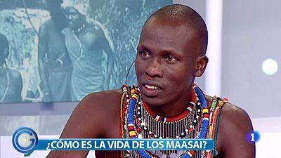 Más Gente - Un masai sorprende a los madrileños