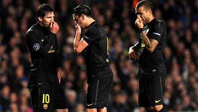 El Chelsea complica la semifinal al Barça
